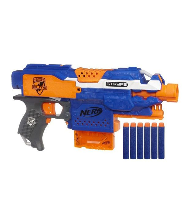 Buy Firearms Guns Online: Funskool Nerf N-Strike Elite Strike Blaster Guns