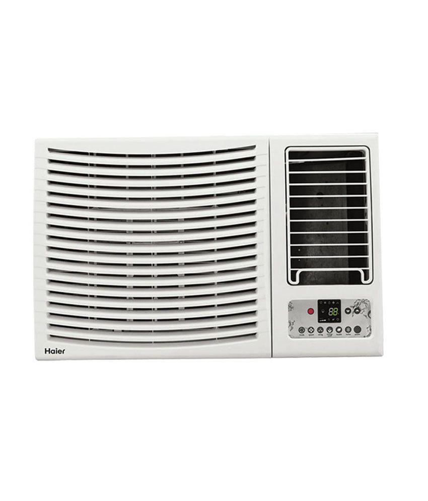 Haier 1 5 ton 2 star hw 18ch2n window air conditioner for Window 0 5 ton ac