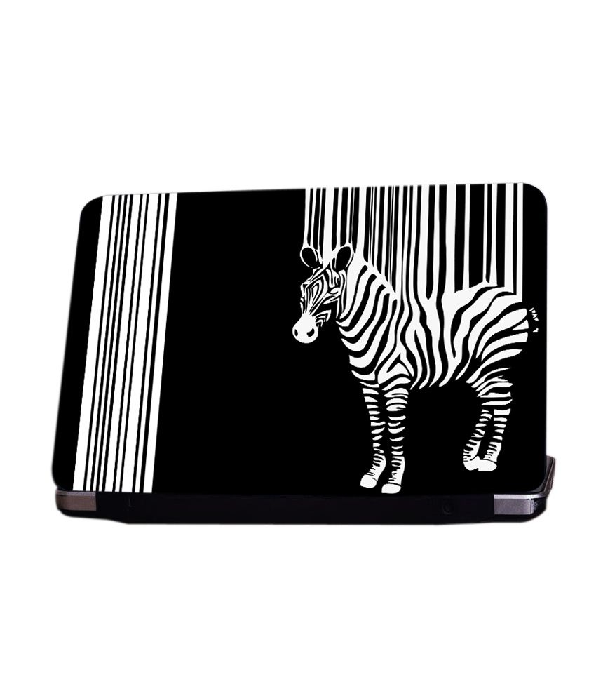 Shopkeeda Zebra Laptop Skin