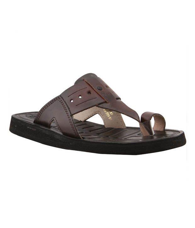 Bata Jubilee Brown Slippers