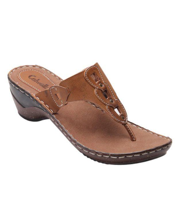 Catwalk Pretty Tan Sandals