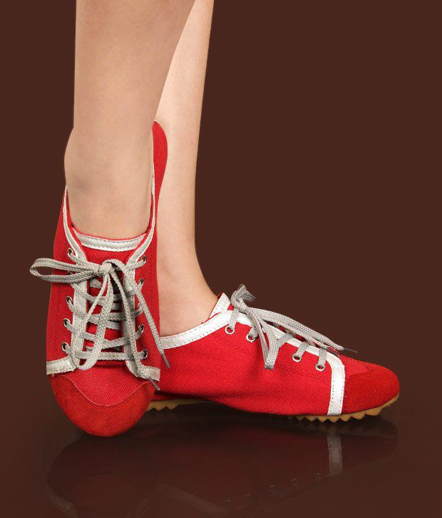 Catwalk Rich Red Casual Shoes