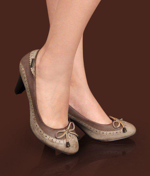 Catwalk Splendid Brown Pump Shoes