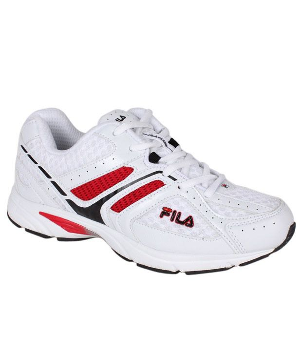 2f79cbdb1 Fila Champion White Running Shoes - Buy Fila Champion White Running Shoes  Online at Best Prices in India on Snapdeal