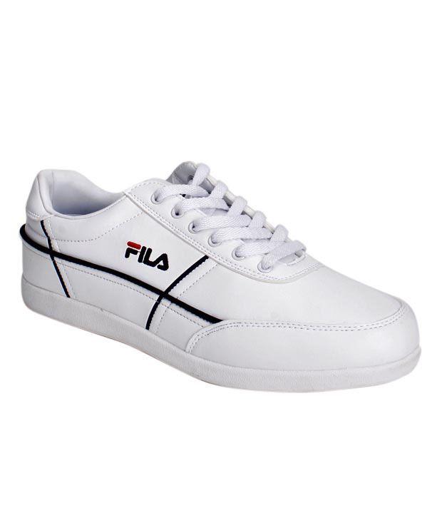 Fila Dynamic White Sports Shoes