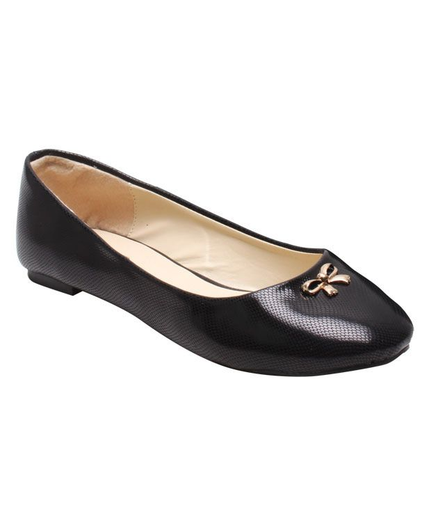 Martini Chic Black Belly Shoes