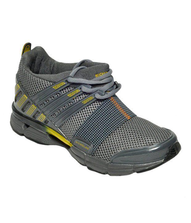 Nicholas Sturdy Grey Sports Shoes