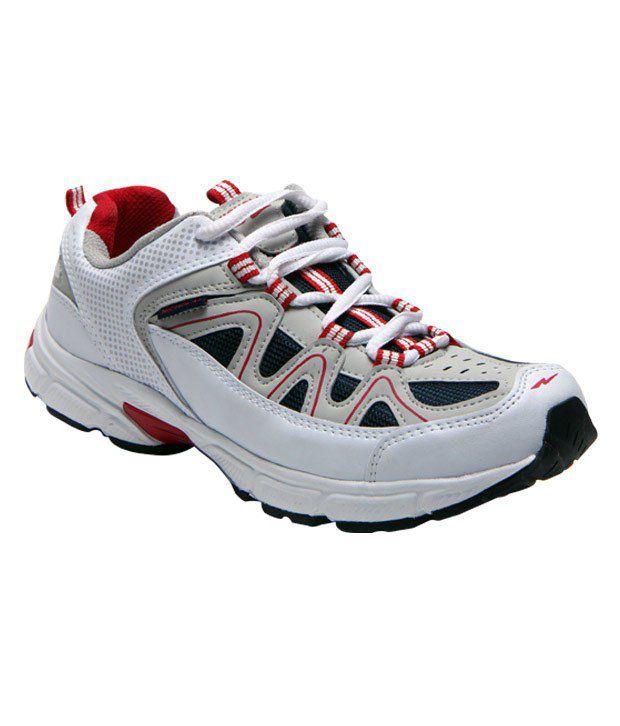 Nicholas White & Navy Running Shoes