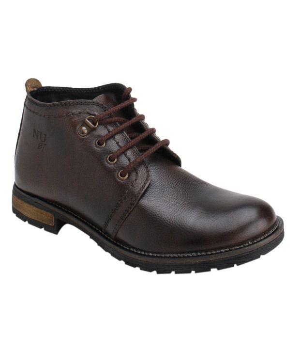 Numero Uno Impressive Brown Boots