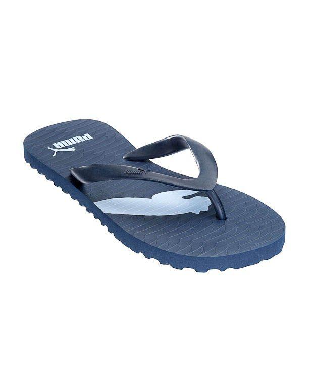 Puma Arizona IND Unisex Blue Slippers