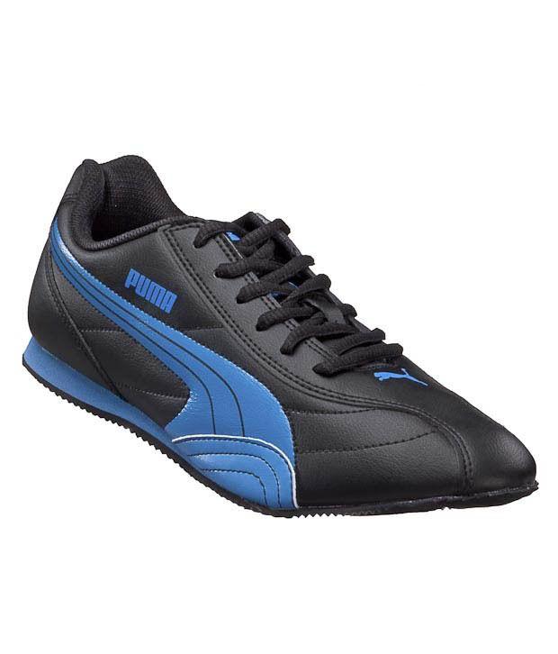 Puma Wirko Wn's IND Black & Blue Sports Shoes