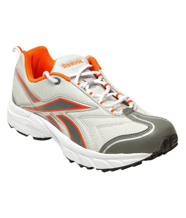 Reebok Global Runner Grey & Orange Sports Shoes