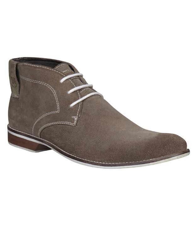 Weinbrenner Light Brown High Ankle Shoes