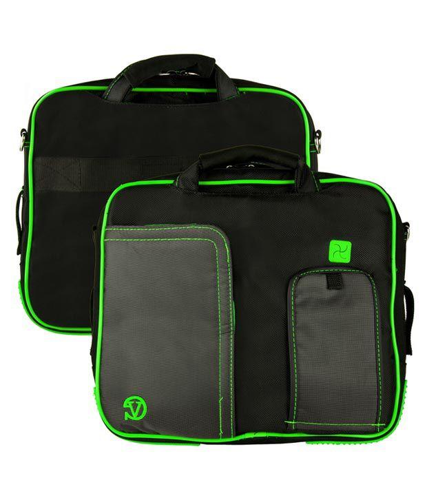 Black and Green VanGoody Pindar Laptop Case for HP Envy Spectre XT 13-2001TU Ultrabook