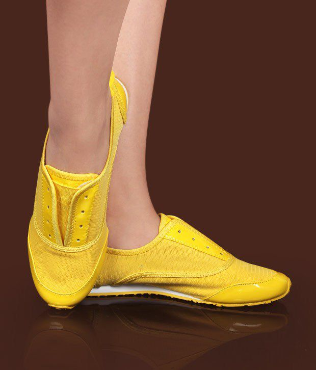 Catwalk Funky Yellow Casual Shoes