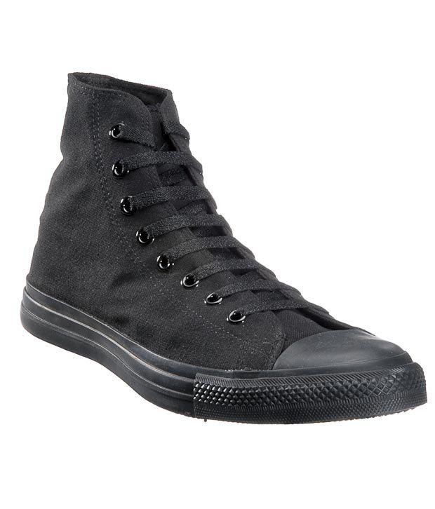 bf99373b56d Converse Cool Black Unisex High Ankle Sneakers Price in India- Buy Converse  Cool Black Unisex High Ankle Sneakers Online at Snapdeal