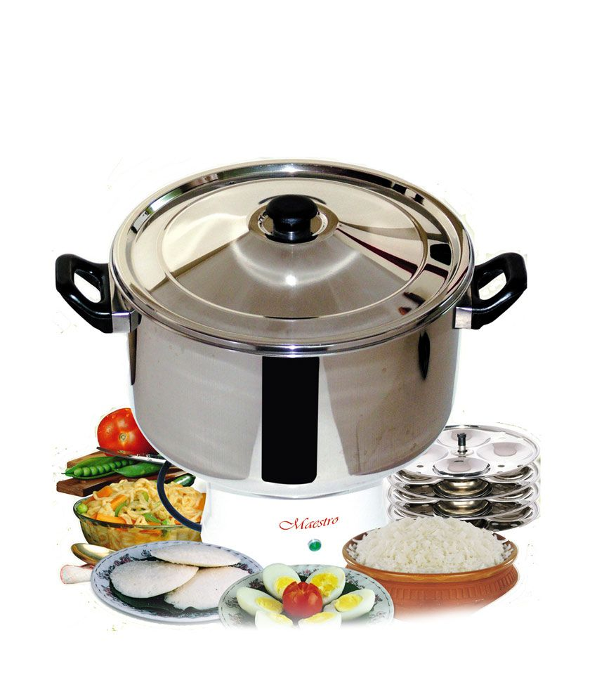 Electric Steam Cooker ~ Maestro electric steam cooker mc ltr price in