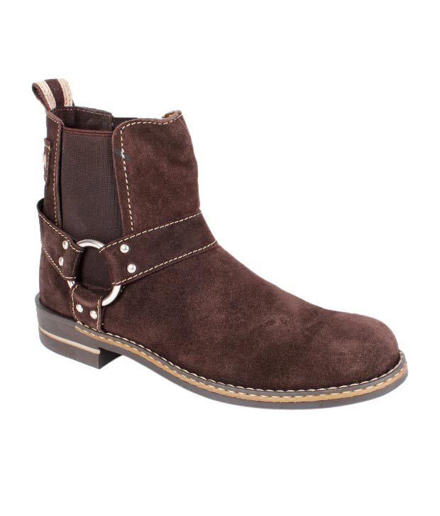 Mocas Rowdy Brown High Ankle Boots