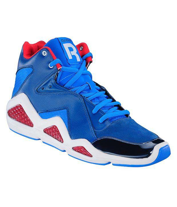 274c51446a8 Reebok CL Kamikaze III Blue Basketball Shoes - Buy Reebok CL Kamikaze III  Blue Basketball Shoes Online at Best Prices in India on Snapdeal