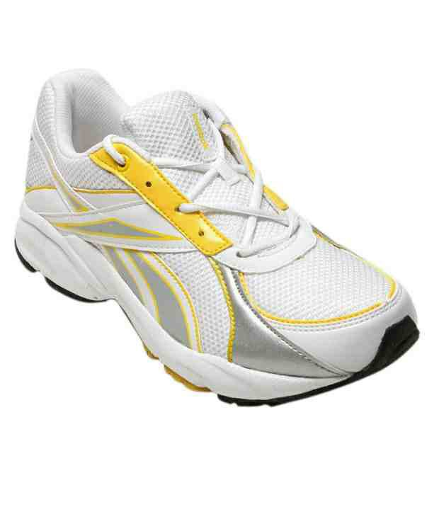 Reebok White Destry Trainer Sports Shoes