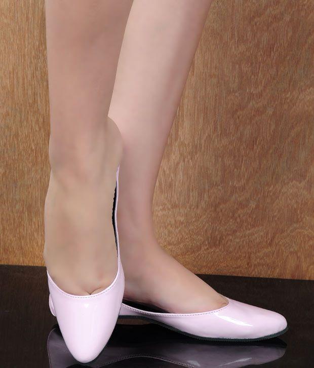 Stylewalk Light Pink Exclusive Ballerinas