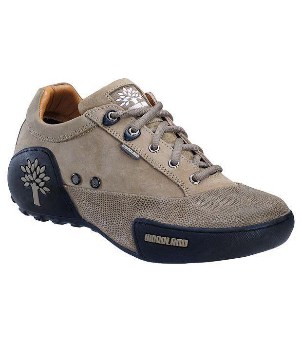 Woodland Khaki Outdoor Shoes - Buy Woodland Khaki Outdoor ...