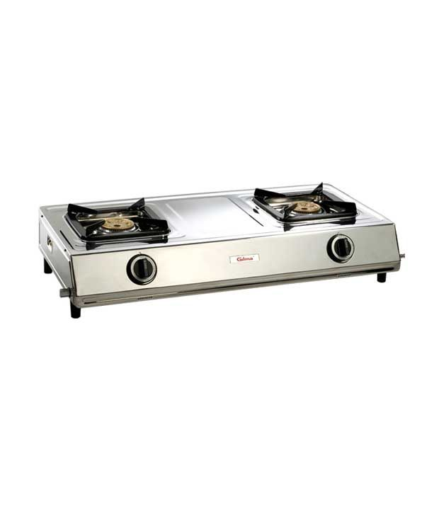 Gilma Sarpker Auto Ignition Gas Cooktop (2 Burner)