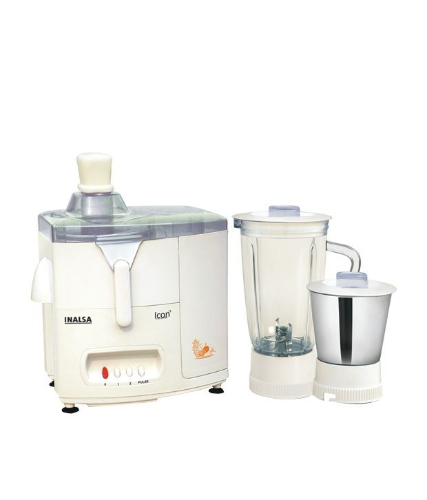 Inalsa Icon 450W Juicer Mixer Grinder