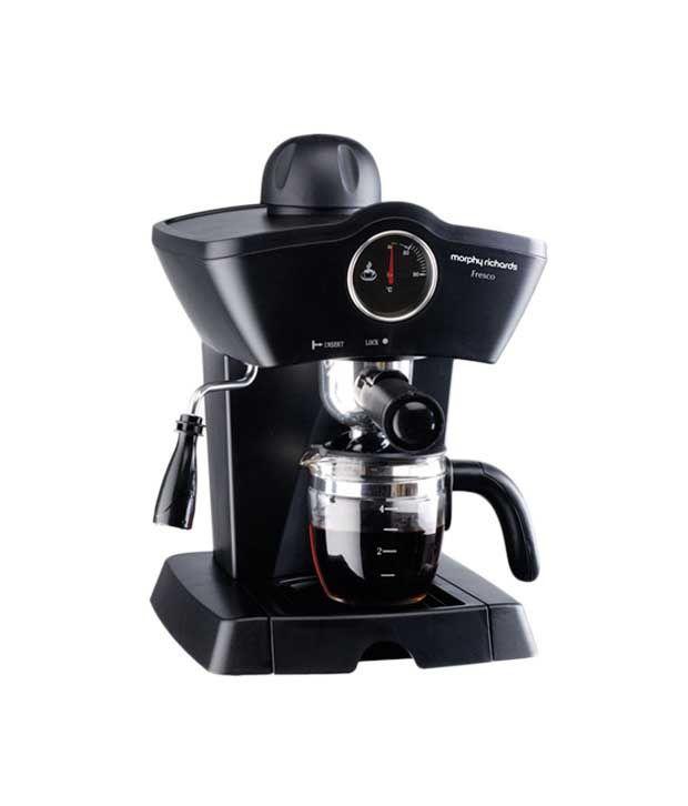 Morphy Richards Fresco 800 Watt 4 Cup Espresso Coffee Maker