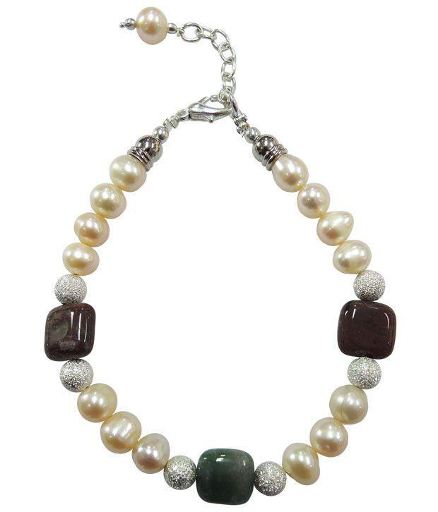 Pearlz Ocean Chirpy Fresh Water Pearl Bracelet