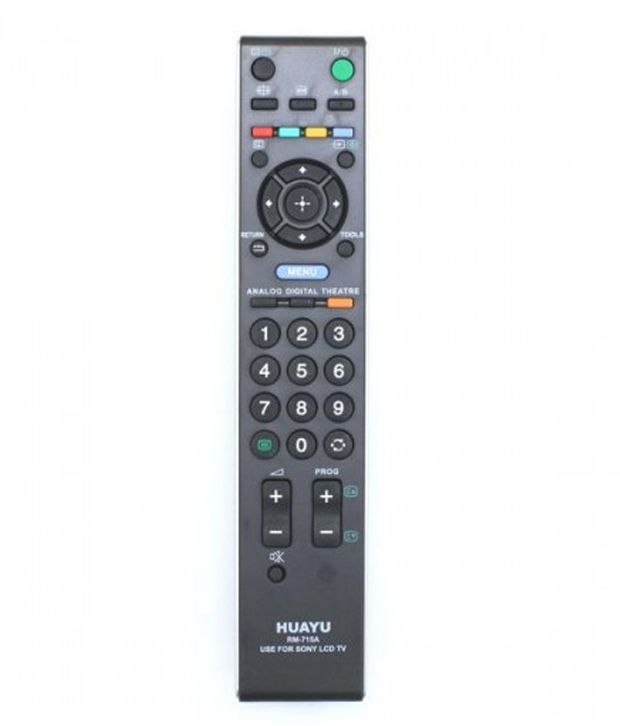 Buy Huayu Remote For Sony LCD TV Model No. Rm-715A Online