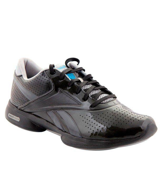 Reebok Easytone Black & Grey Sports Shoes Price in India