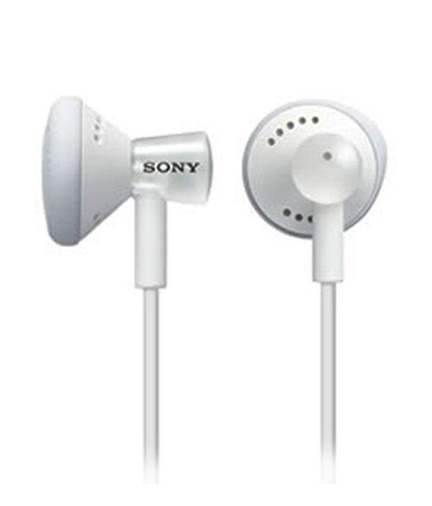 Sony earphones vintage - white sony earphones with mic