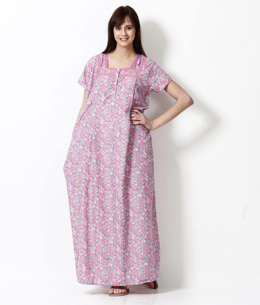 Shop for nighties online without any hassle For women, the nightwear range is richer than that of men and the range includes everything from long nightgowns, shorts, capris, tee- shirts sets, camisoles, short gowns, funky pyjamas, and various other styles.