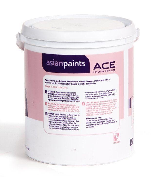 Marvelous Ace Exterior Paint Colors Part - 6: ... Asian Paints - Ace Exterior Emulsion Exterior Paints - Dark Drama