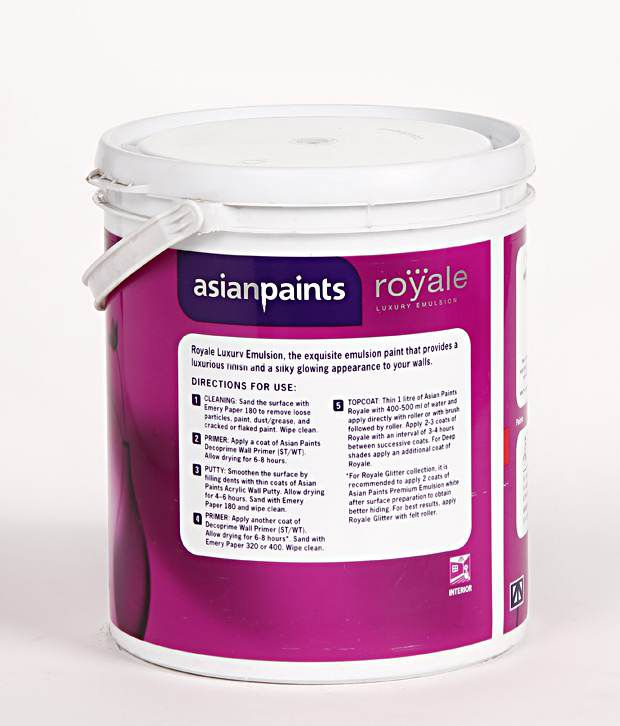 Buy Asian Paints - Royal Glitter Luxury Emulsion Interior Paints ...