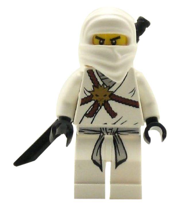Lego Ninjago Zane - White Ninja Minifigure Construction ...