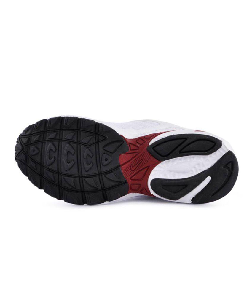 17927c40cc1ea4 Nike Men 2.04 White Red Sports Shoes - Buy Nike Men 2.04 White ...