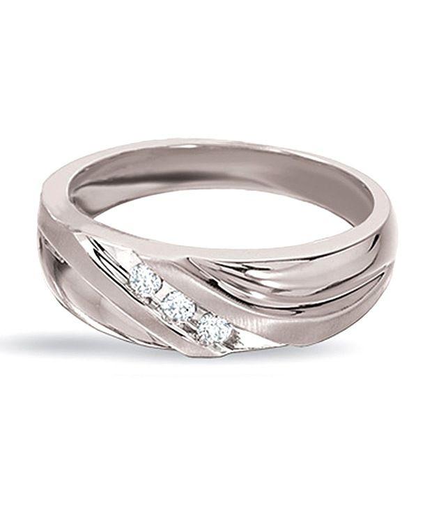 AG 3 Diamond Band Ring