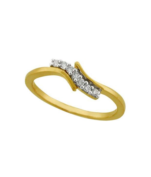 Avsar Gorgeous Gold & Diamond Ring