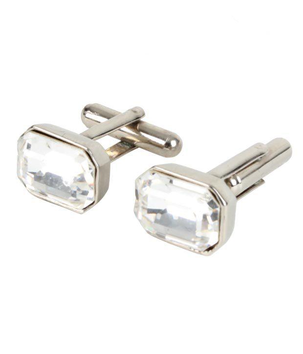 Favola Dainty Crystal Cufflinks
