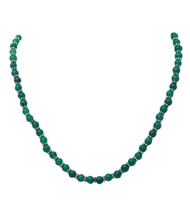 Freak Pretty Green Onyx Gemstone String