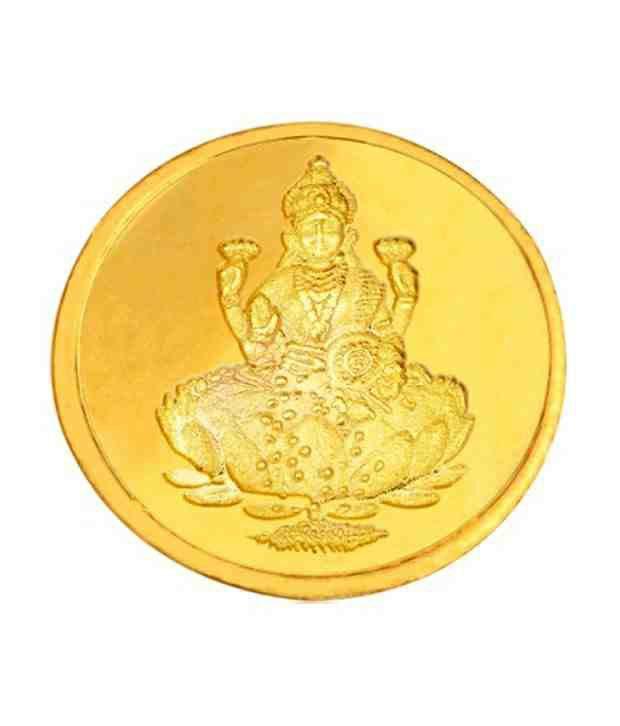 Infinium 24kt 2g 999 Purity ASSAY Certified Laxmi Gold Coin
