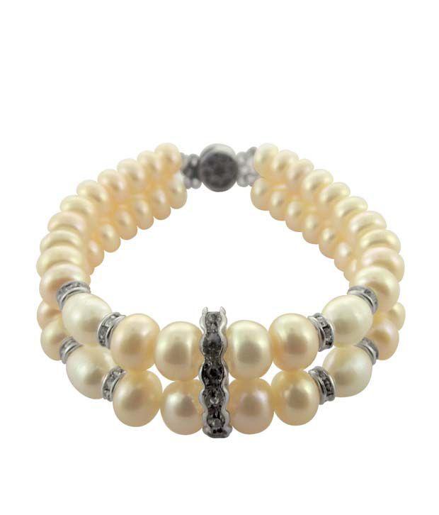 Sri Jagdamba Pearls Gracious Pearl Bracelet