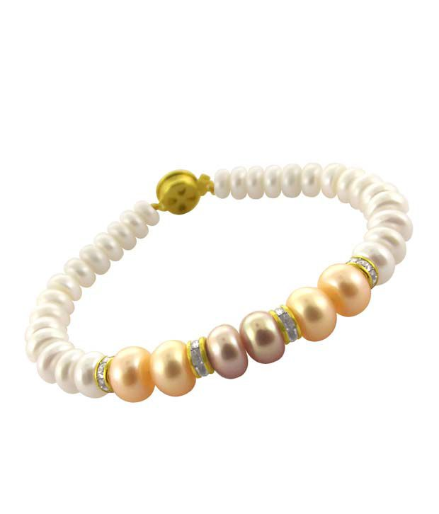 Sri Jagdamba Pearls Lovely Pearl Bracelet