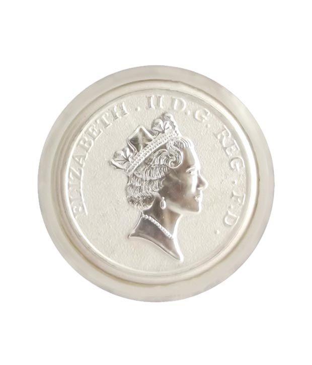 Sri Jagdamba Pearls Queen Elizabeth Silver Coin