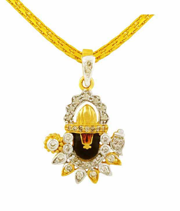 Mehrasons Diamond Balaji Pendant