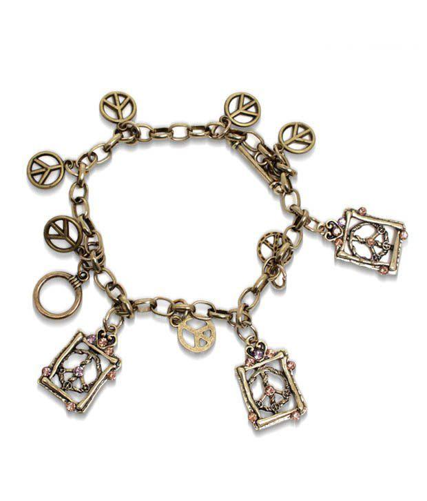 Pari Antique Style Charm Bracelet