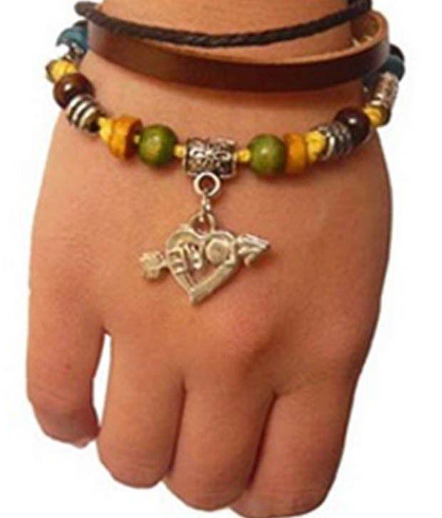 Pari Multi-coloured Beaded Hippie Bracelet