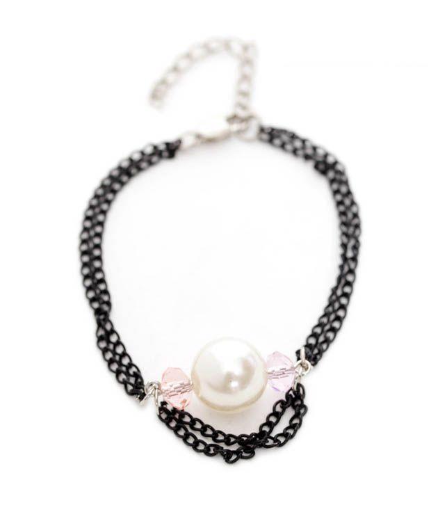 Pretty Woman Elegant Bead & Crystal Bracelet